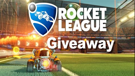 League Giveaway - rocket league giveaway over youtube