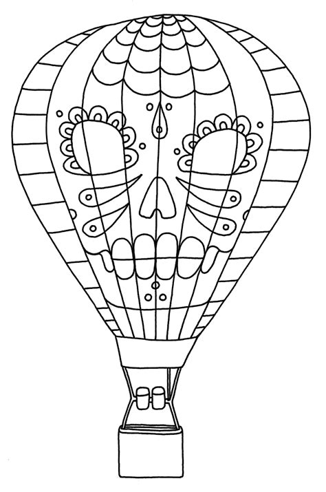 free printable coloring pages air balloon free printable air balloon coloring pages for