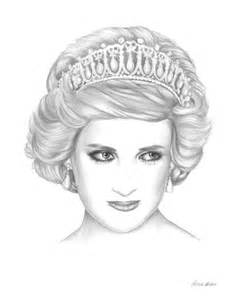 coloring page of princess diana princess diana clipart clipartfest