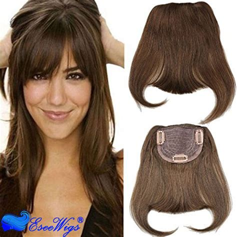 hair piecis and bangs 100 human hair bangs extensions straight european hair