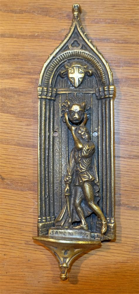 antique brass door knockers collectors weekly
