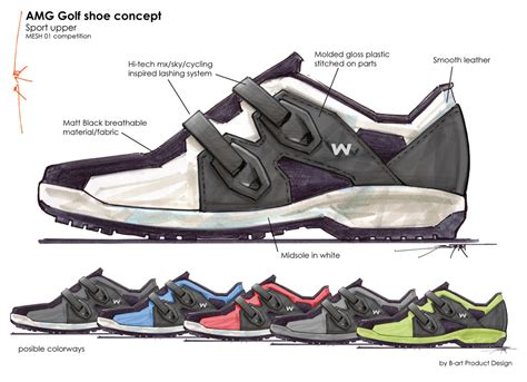 athletic shoe design shoes by bart den bogaard at coroflot