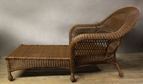 antique wicker chaise outdoor wicker chaise lounge antique prefab homes