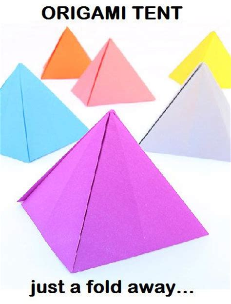 Origami Circus Tent - how to make paper tent 28 images diy mini cing set