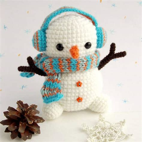 amigurumi snowman pattern free free crochet snowman pattern amigurumi today