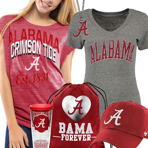 alabama crimson tide fan gear alabama crimson tide gear alabama crimson tide