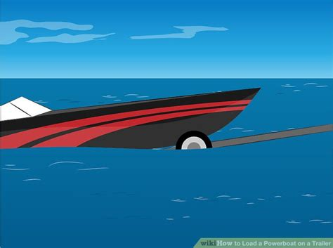 driving boat onto trailer how to load a powerboat on a trailer 13 steps with pictures
