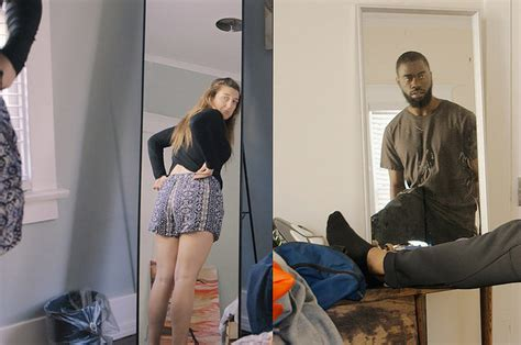 coed changing room opposite roommates morning rituals