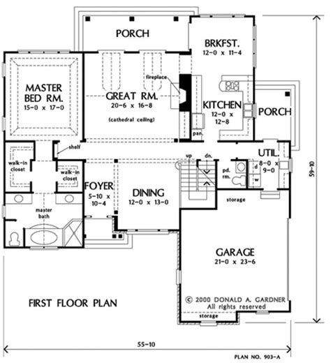 rymarc homes floor plans home plan the winslow by donald a gardner architects