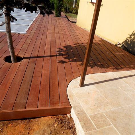 massaranduba decking boards untreated wood