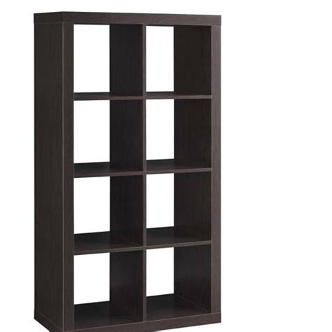 Cube Room Divider Better Homes And Gardens Furniture 8 Cube Room Organizer Storage Divider Bookcase Espresso