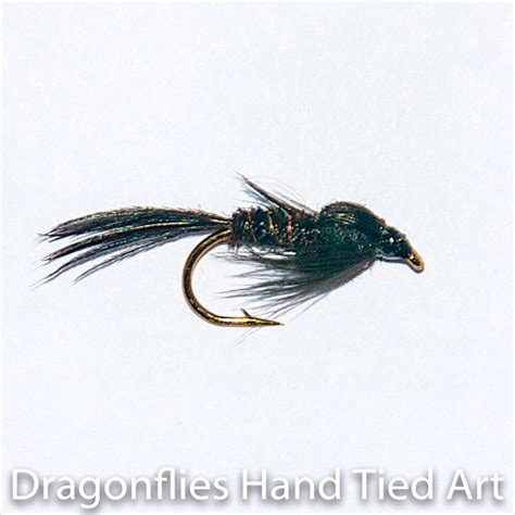 trout flies black pheasant nymph trout grayling fly fishing
