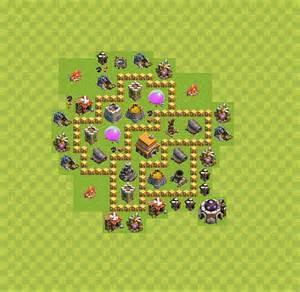 Die base f 252 r troph 228 en verteidigung in clash of clans rathaus