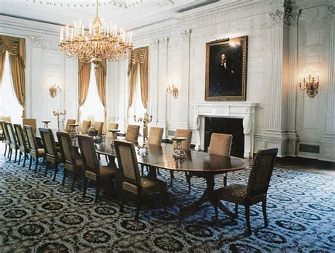 white house dining room state dining room white house museum