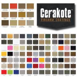 cerakote color chart cc custom coatings graphics specialty coatings