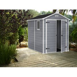 Keter Manor Resin Shed by Keter 213413 Manor Large 6 X 8 Ft Resin Outdoor Yard
