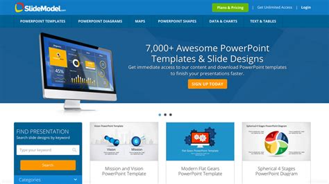 Slidemodel Com Review Make Impactful Slides With Powerpoint Templates Tech Blog By Guy Galboiz Impactful Powerpoint Templates