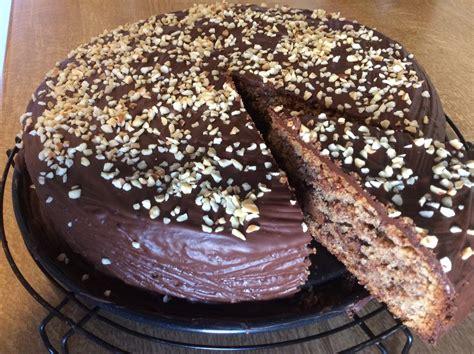kuchen mit glasur kuchen mit nougat glasur beliebte rezepte f 252 r kuchen und
