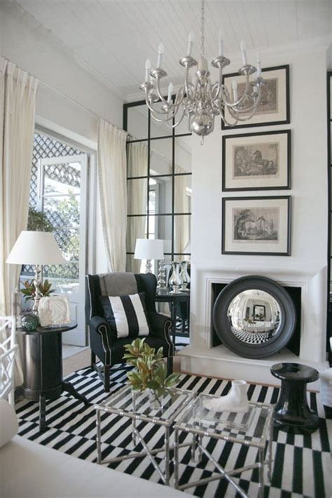 12 home decor designs with black white stripe
