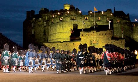 edinburgh tattoo perth scotland military tattoo trojan travel