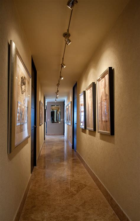 small hallway lighting ideas how can i decorate a long narrow hallway