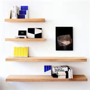 shelves on wall ethnicraft oak wall shelf by ethnicraft clickon furniture