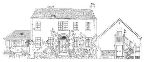 doodlebug house on black white houses doodle my house