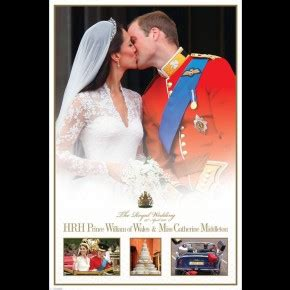 Wedding And Engagement Posters by Royal Posters Prince William Kate Middleton Engagement