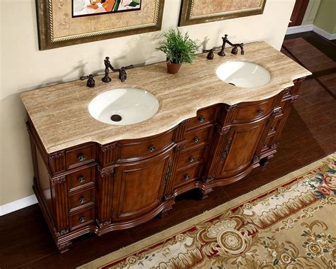 double sink bathroom vanity cabinets 72 72 quot travertine stone top bathroom furniture double sink