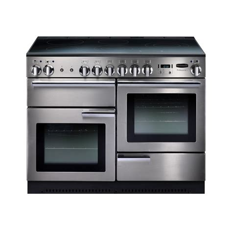electric induction range cookers rangemaster prop110eiss c professional plus 110 electric induction range cooker stainless steel