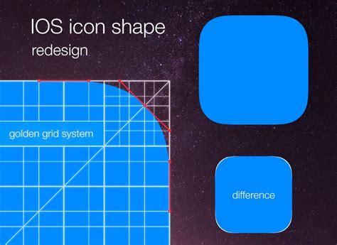 design app grid free golden ratio app icon grid template titanui
