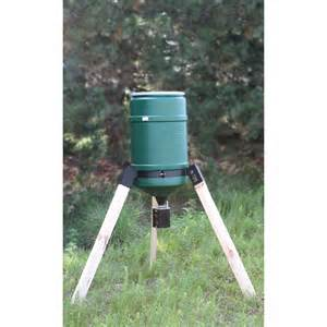 Deer Feeder on time tomahawk ultra hunt deer feeder with peg leg tripod qc supply