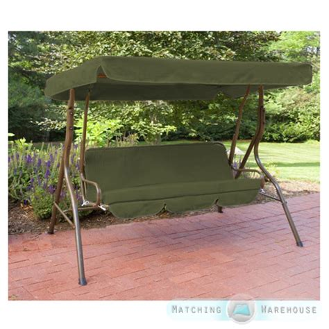 canopy for swing seat replacement 3 seater swing seat canopy cover and cushions