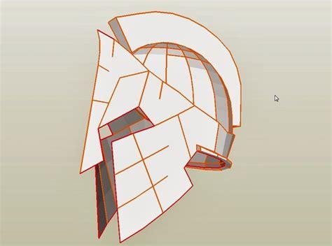 spartan mask template spartan 300 king leonidas costume helmet diy cardboard