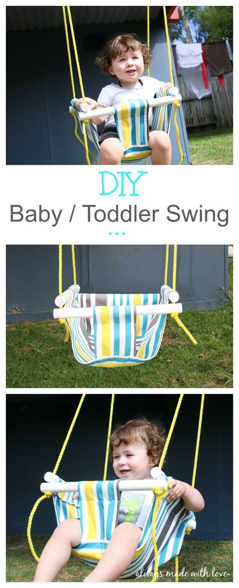baby and toddler swing diy baby toddler swing always made with love