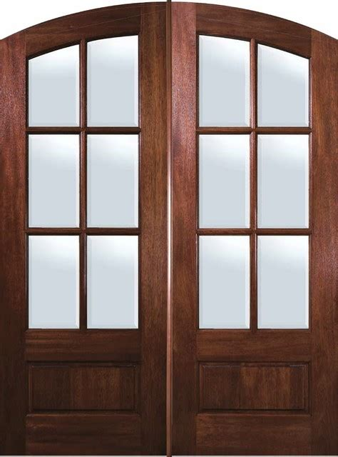 Arched Patio Doors Slab Door 96 Mahogany Arch Top 3 4 Lite 6 Lite Traditional Patio Doors Ta