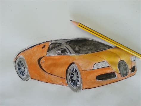 bugatti drawing how to draw a bugatti with colors dessiner une bugatti