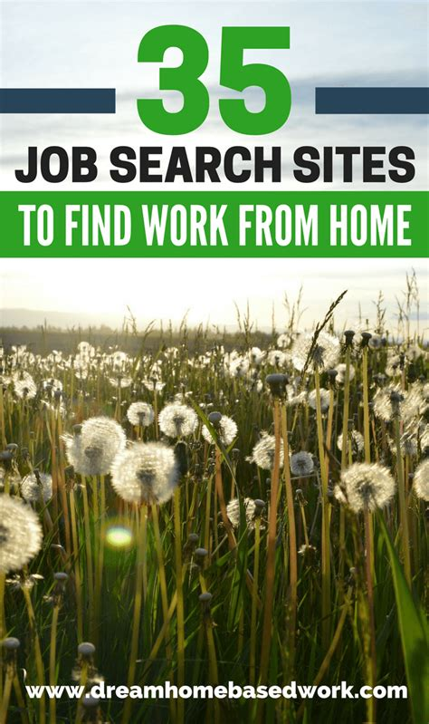 Find Jobs Online To Work From Home - 35 job search sites you can use to find work from home