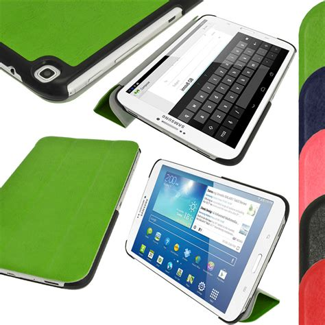 Samsung Tab 3 Sm T311 pu leather cover for samsung galaxy tab 3 8 0 tablet sm t310 t311 t315 ebay