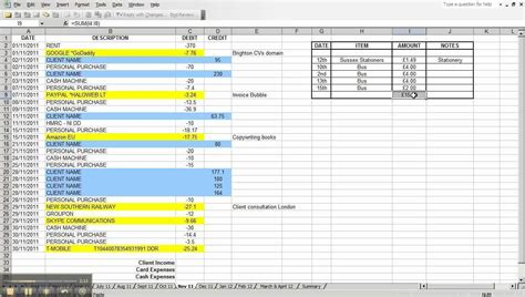 excel expenses template uk daily expense tracker spreadsheet spreadsheet for monthly