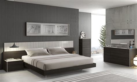 italian modern bedroom sets graceful wood elite design furniture set with long panels