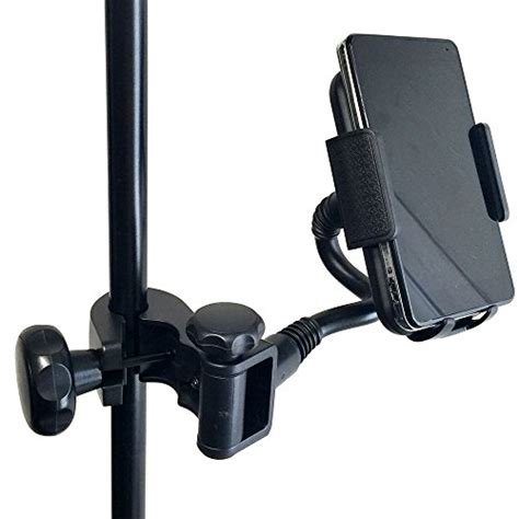 Microphone Smartphone Stand Holder 360 Degree accessorybasics mic microphone stand smartphone mount w multi angle 360 176 swivel adjust