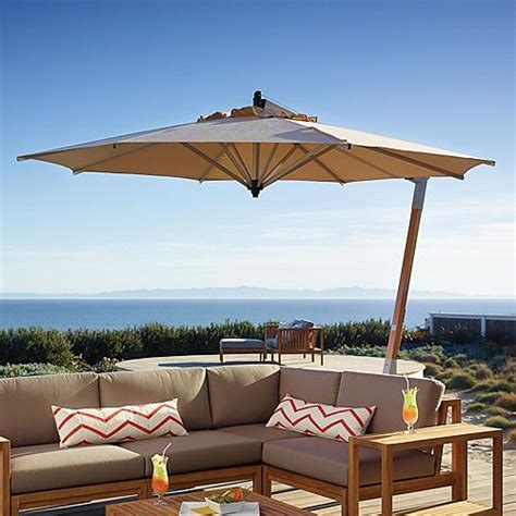 Frontgate Patio Umbrellas Picollo Tilting Patio Umbrella Contemporary Outdoor Umbrellas By Frontgate