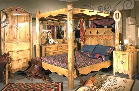 rustic western style furniture eclectic beds phoenix