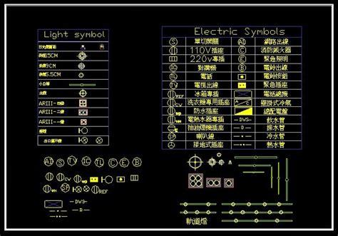 light cad blocks free download cad light symbol