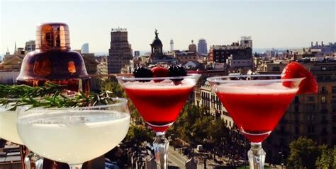 roof top bars barcelona city highs six of barcelona s best rooftop bars into the blue ryanair travel blog