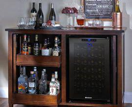 bar cabinet with fridge space best 25 mini fridge ideas on salon ideas