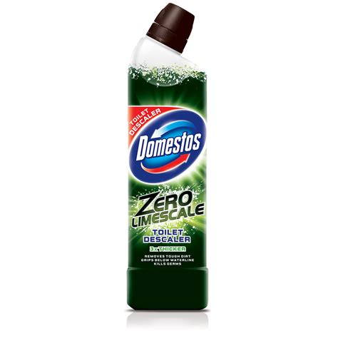 Shower Limescale Remover by Domestos Zero Limescale Toilet Limescale Remover 750ml At