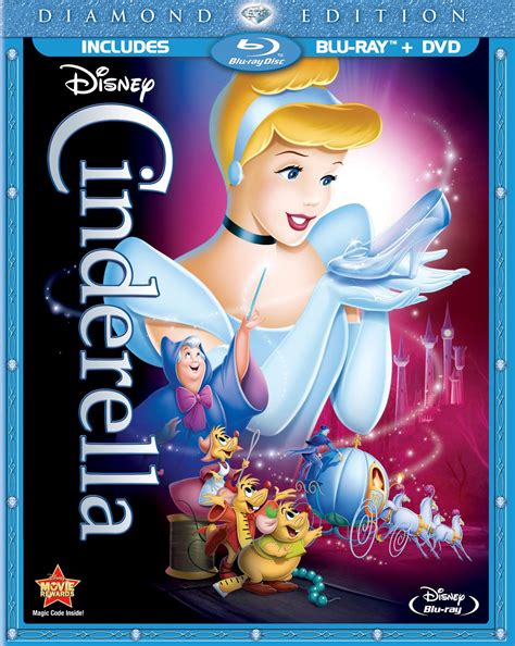 cinderella film blu ray disney preparing diamond edition cinderella blu ray