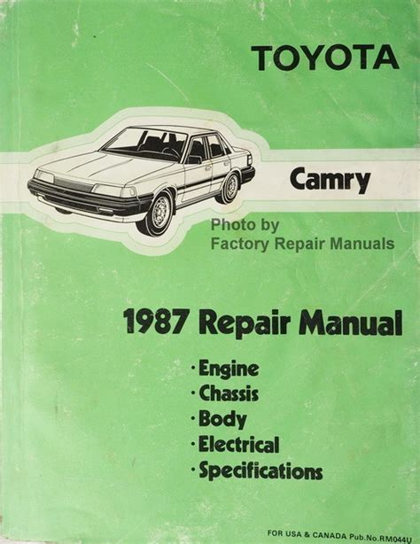toyota camry 1987 1991 service repair manual by hong lii issuu 1987 toyota camry factory service manual original shop repair factory repair manuals